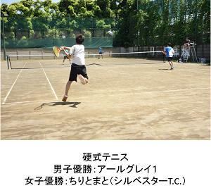 学内戦硬式テニス